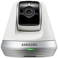 Samsung SNH-V6410PN SmartCam Pan/Tilt Full HD 1080p Indoor True Day & Night Wi-Fi IP Camera, 30 fps, H.264, Motion JPEG, White