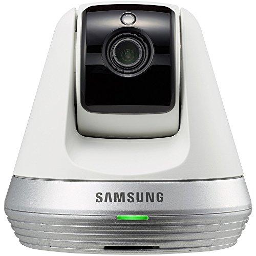 Samsung SNH-V6410PNW Pan/Tilt 1080P Wi-Fi Camera, White