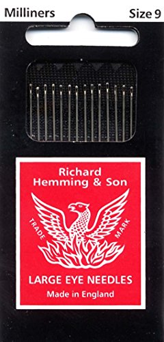 (Colonial Needle 16 Count Richard Hemming Milliners/Straw Needles, Size 9 )