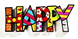 HAPPY WORD DECOR ROMERO BRITTO