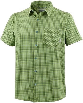 Columbia Error:# Camisa de Manga Corta para Hombre: Amazon.es: Ropa y accesorios