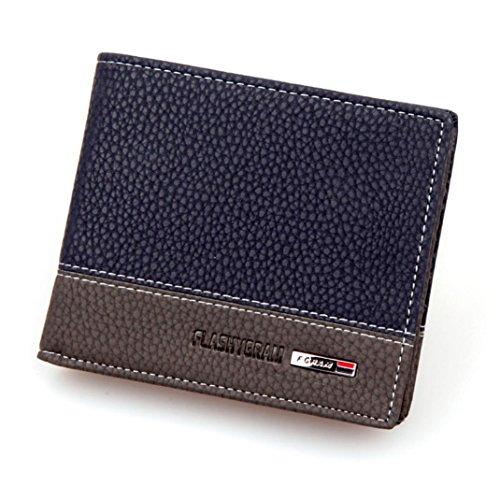 Clutch Wallet Mens Leather Bifold Card Holder for men wallets - 5