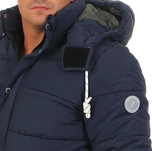 Jacket Verde Blu Uomo Jones Jack Puffa Figure amp; U1WwXP
