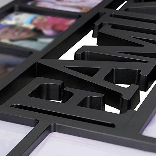 Portaretratos Tamaño XL - Family/Familia [Negro] (73cm x 37cm): Amazon.es: Hogar
