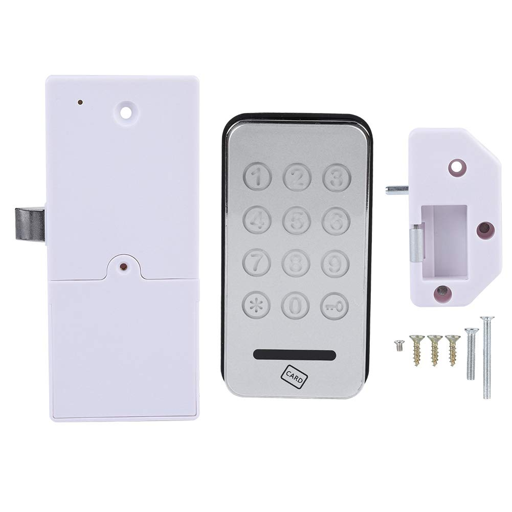 Touch Keypad Electronic Cabinet Lock Password Access Lock Digital Password Keyless Lock for Electronic Security Cabinet Coded Locker