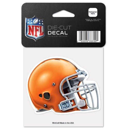 Die-Cut Helmet Auto Decal (Browns Static Cling)