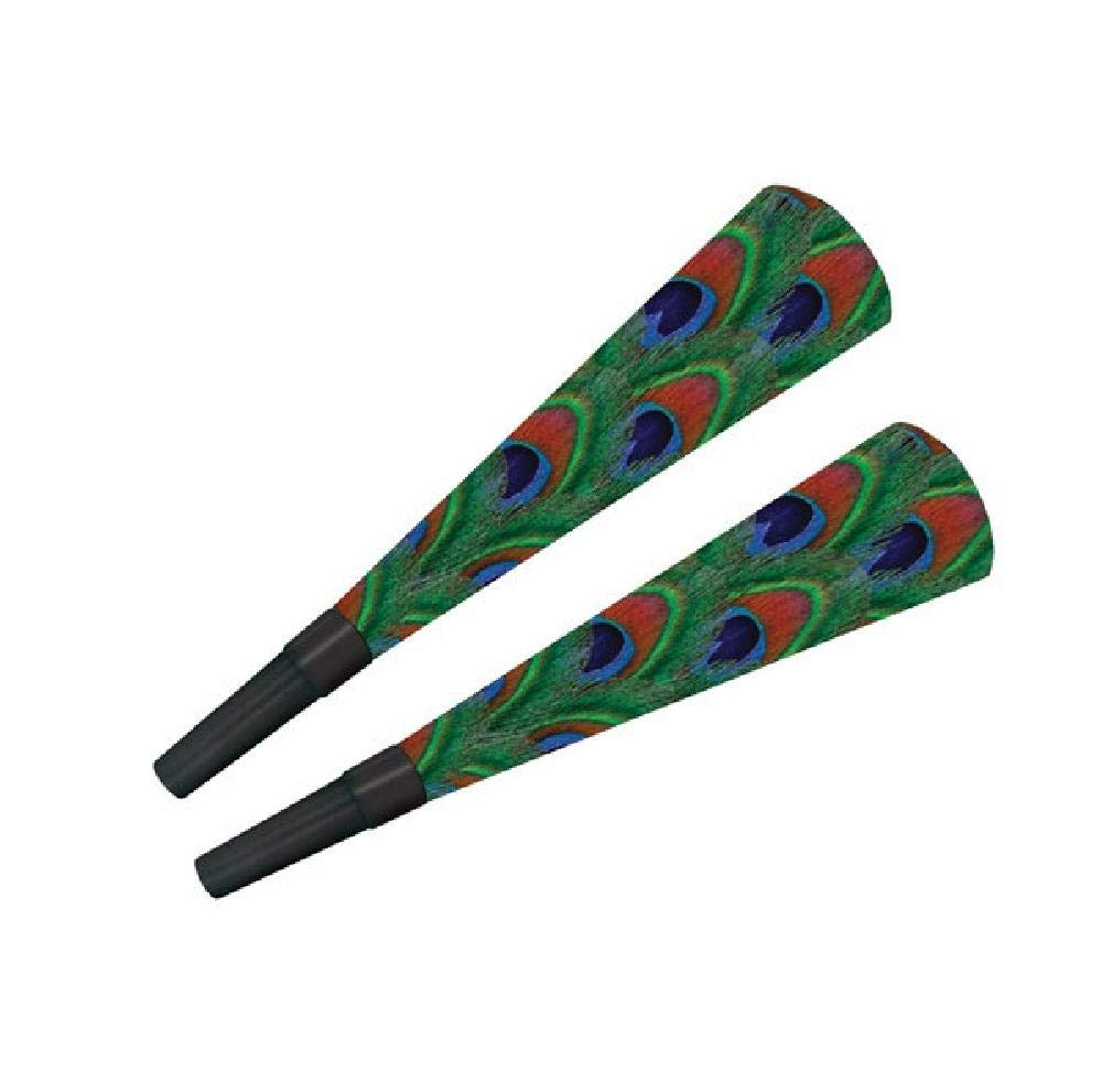Bargain World Peacock Horns - Pack of 100 (with Sticky Notes)