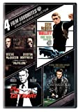 4 Film Favorites: Steve McQueen (Bullitt, The Cincinnati Kid, The Getaway: Deluxe Edition, Papillon) by Warner Home Video