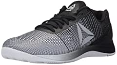 Change the game on CrossFit with the new Reebok Nano 7. The multi-surface outsole takes on rope climbs and burpees with ease. The external heel counter creates a stable feel for lifting. Updated Nano tooling and nanoweave upper speak true Cro...