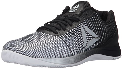 Reebok Men's CROSSFIT Nano 7.0 Cross-Trainer Shoe, White/Black, 8 M US