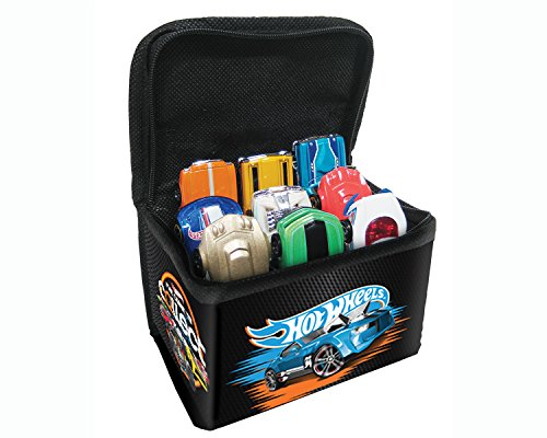 Hot Wheels Carrying Case (Hot Wheels 9 Car Travel Tote w/Car)