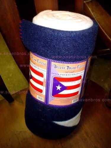 Puerto Rico Wholesale - Puerto Rico Fleece Blanket 60
