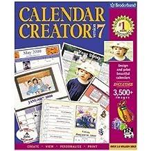 PC Software Lifestyle: Calendar Creator version 7