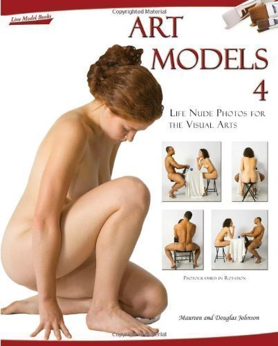 Art Models 4: Life Nude Photos for the Visual Arts by Johnson, Maureen, Johnson, Douglas Har/Cdr Edition (2009)