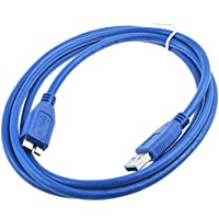 SLLEA 5 FEET USB Cable Laptop PC Data Sync Cord Lead For Acer C120 CWV1109 WVGA LED DLP Pico Projector EY.JE001.010