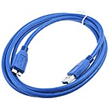 AT LCC USB 3.0 Cable Cord Lead For WD Western Digital WD250ME WD1600B014 WD16001032 WDBABV6400ABK-0 HDD MY BOOK USB 3.0 Cable Cord Lead