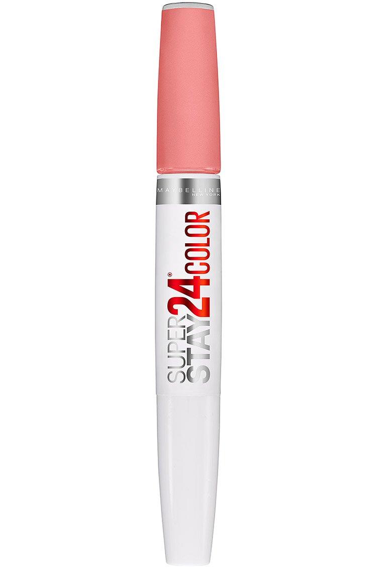 Maybelline New York SuperStay 24 2-Step Liquid Lipstick Makeup, Firmly Mauve, 1 kit 041554551075