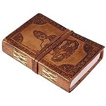 "SouvNear SS-SN-190803107584 Buddha Leather Journal, 6"""