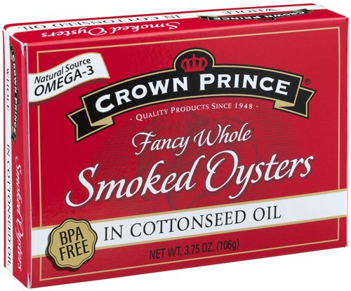 Crown Prince Smoked Oysters Cottonseed product image