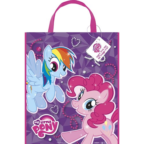 Unique Large Plastic My Little Pony Goodie Bag, 13