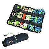 BUBM Kopfhörer Universal/Kabel/Stifte Organizer stabil Baby Healthcare & Pflege-Kit UDJ-L-Black