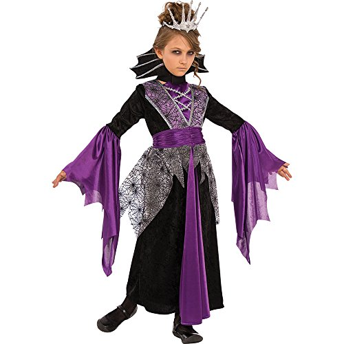 Rubies Costume Child's Queen Vampire Costume, Medium, (Midnight Vampire Costume Child)