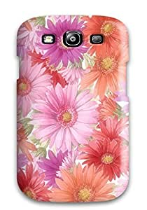 Excellent Design Earth Flower Case Cover For Galaxy S3