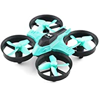 Mini 2.4GHz 4CH 6 Axis Gyro RC Quadcopter with Headless Mode Speed Switch (CYAN)