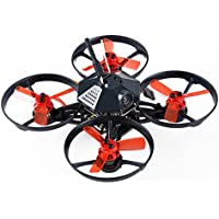 Makerfire Armor 90 BNF FPV Racing Drone 90mm Micro Brushless Quadcopter with FPV Camera Flysky Receiver Version (Black)
