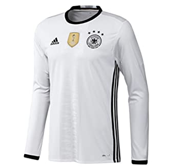 Adidas UEFA EURO 2016 Alemania Camiseta 1ra Manga Larga (US TAMAÑO) (M): Amazon.es: Deportes y aire libre