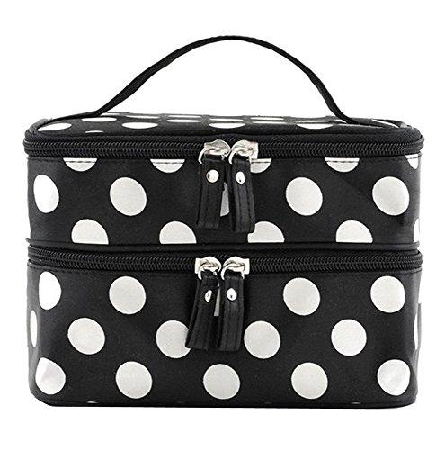 niceeshop Double Cosmetic Toiletry Handbags