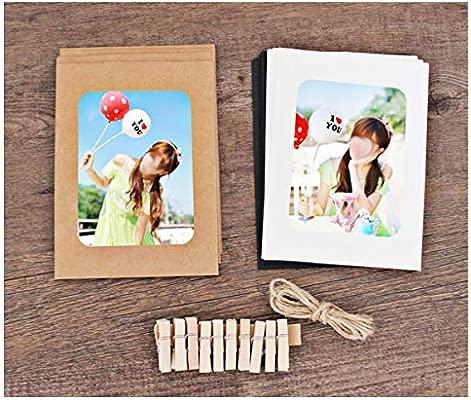 JXE - Juego de 10 Marcos de Fotos de Papel para Impresora HP ...