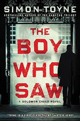 Book Cover: The Boy Who Saw: A Solomon Creed Novel