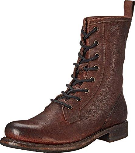 frye-womens-jenna-combat-dark-brown-stone-antiqued-boot-75-b-m
