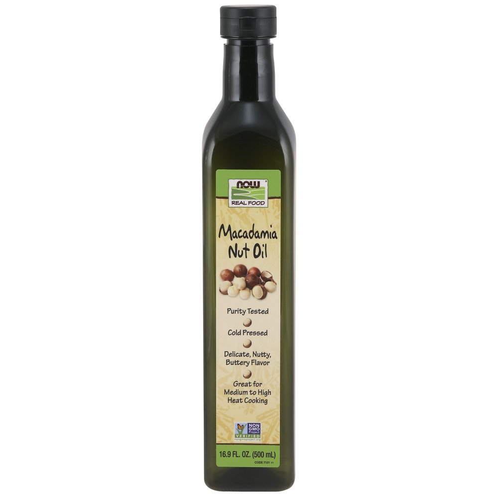 NOW Foods Macadamia Nut Oil,16.9-Ounce by NOW Foods