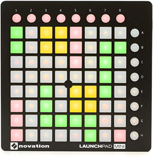 Novation MK2 Launchpad Mini Compact USB Grid Controller for Ableton ()