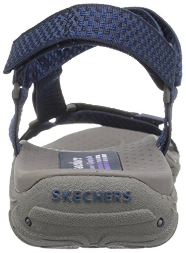 Morning Sandal Skechers Misty Reggae Women's Navy Island xqppgt0rE