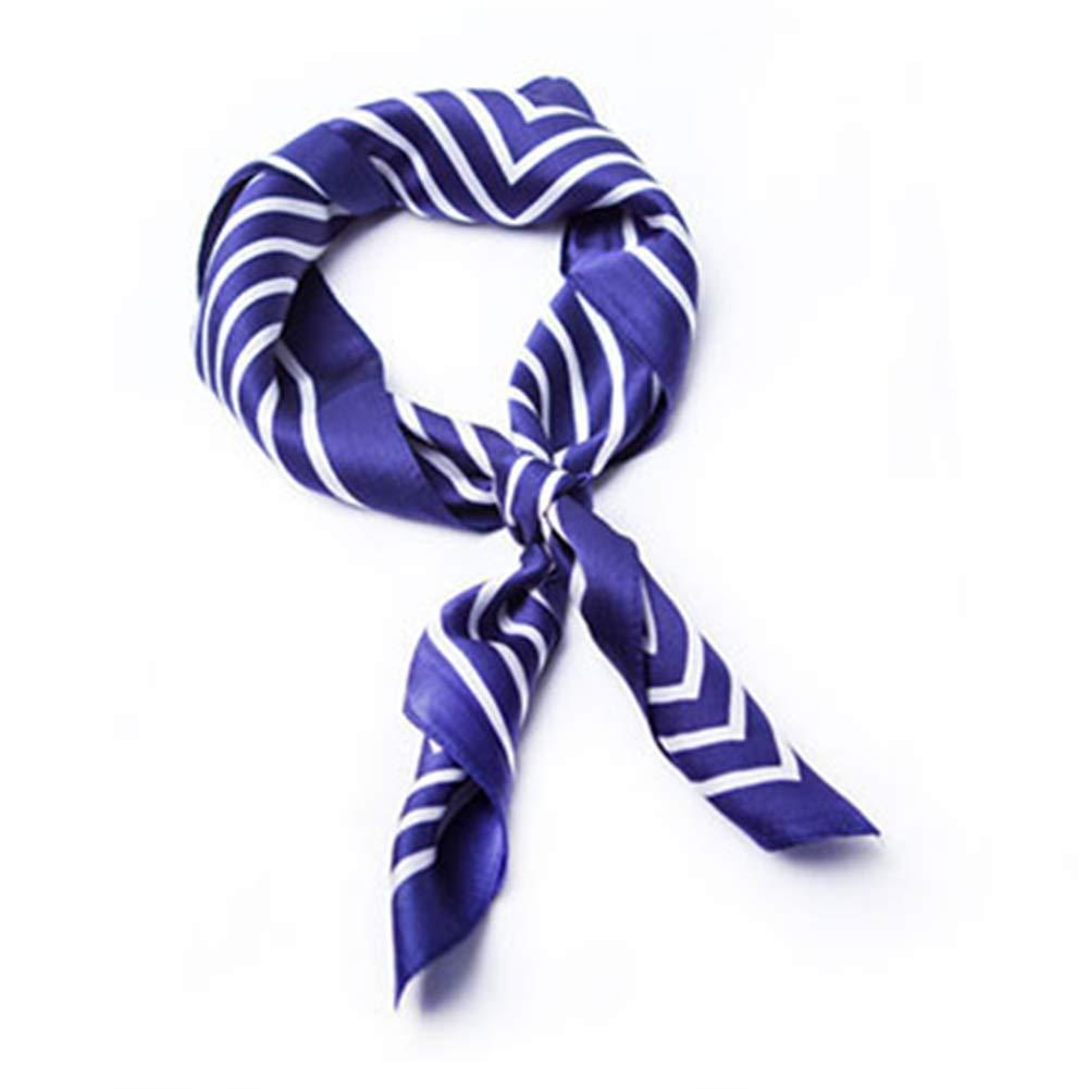 5E YANGJUN Neckties Scarf Business Leisure Fashion Soft Accessories Office Wedding Gift Retro, 7 colors (color   5E, Size   52x52cm)