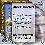 Beethoven: String Quartets Op. 59 No. 1 [SACD]