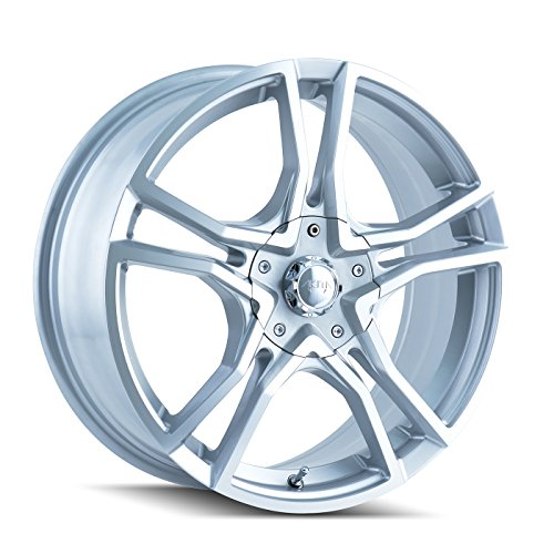 "Akita AK85 485 Hyper Silver Wheel with Machined Face (17x7""/5x105mm)"