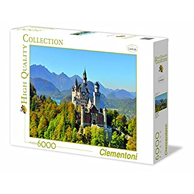 Clementoni 36520 Neuschwanstein Puzzle High Quality Collection 6000 Pezzi