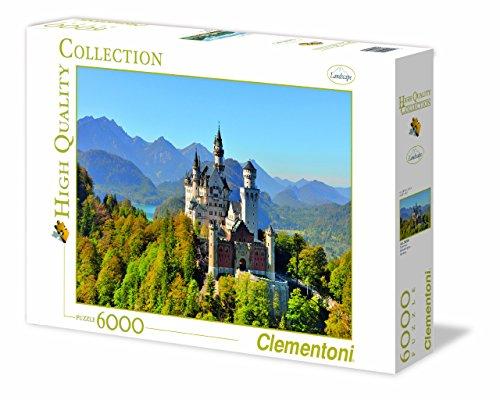 Clementoni 36520 Neuschwanstein Puzzle High Quality Collection 6000 Pezzi