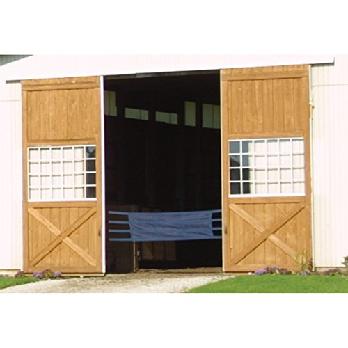 Dura-Tech Deluxe Aisle Guard for Horse Grooming (Black) by Dura-Tech (Image #2)