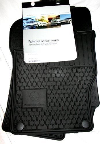 2007 Mercedes E-350 Car (Genuine Mercedes-Benz Q6680686 - Rubber Floor Mats)