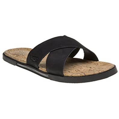 Mens UGG® Australia Ithan Cork Sandals: Amazon.co.uk: Shoes