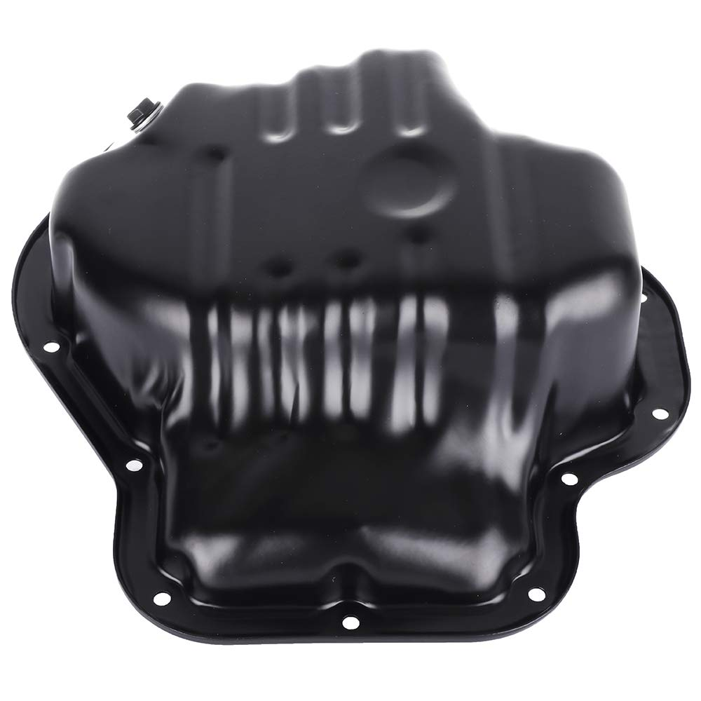 ROADFAR Engine Oil Pan Drain Plug Kits for Iron Assembly fit for 01 02 03 04 05 06 07 08 09 10 11 12 13 Scion tC Toyota Camry Corolla Highlander Matrix Rav4 Solara L4 2.4L with OE 264-317