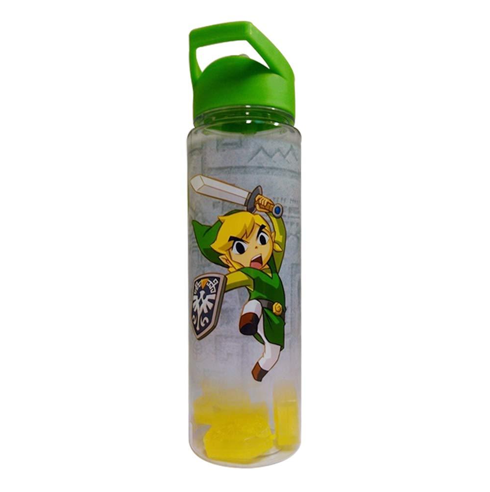 Amazon.com: Zelda Headed Botella de agua verde con Zelda ...