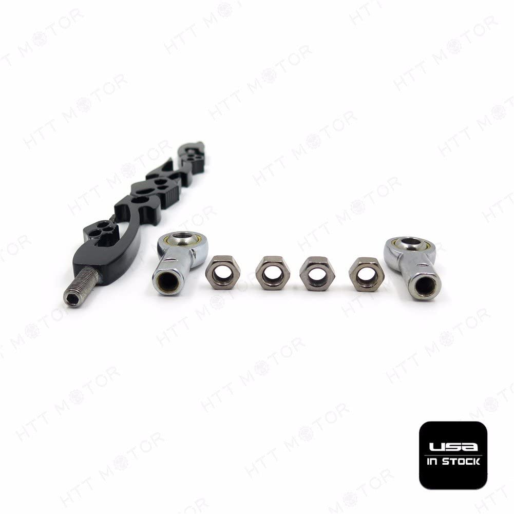 Motorcycle Black Diamond Shift Linkage For Harley Softail Fxdwg Dyna Touring Road King SMT MOTO