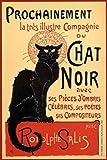 vintage advertisement - Le Chat Noir The Black Cat Vintage Advertisement Poster 12x18 inch