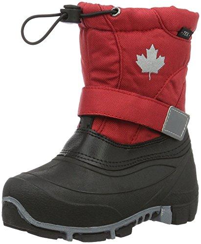 Canadians Unisex-Kinder Allwetterstiefel Schneestiefel Rot (500 RED)